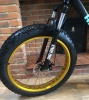 Fat Bike, Mountain Bike/Bicycle, Fat Tire/Tyre - Suspension - Matt Black