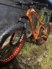Fat Bike/Snow Bike/Beach Cruiser 26x4.0 MTB suspension disc 24 Speed Orange