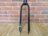 Air-Bike Ultralight Rigid Front Fork 26 Inch Black Aluminium Alloy