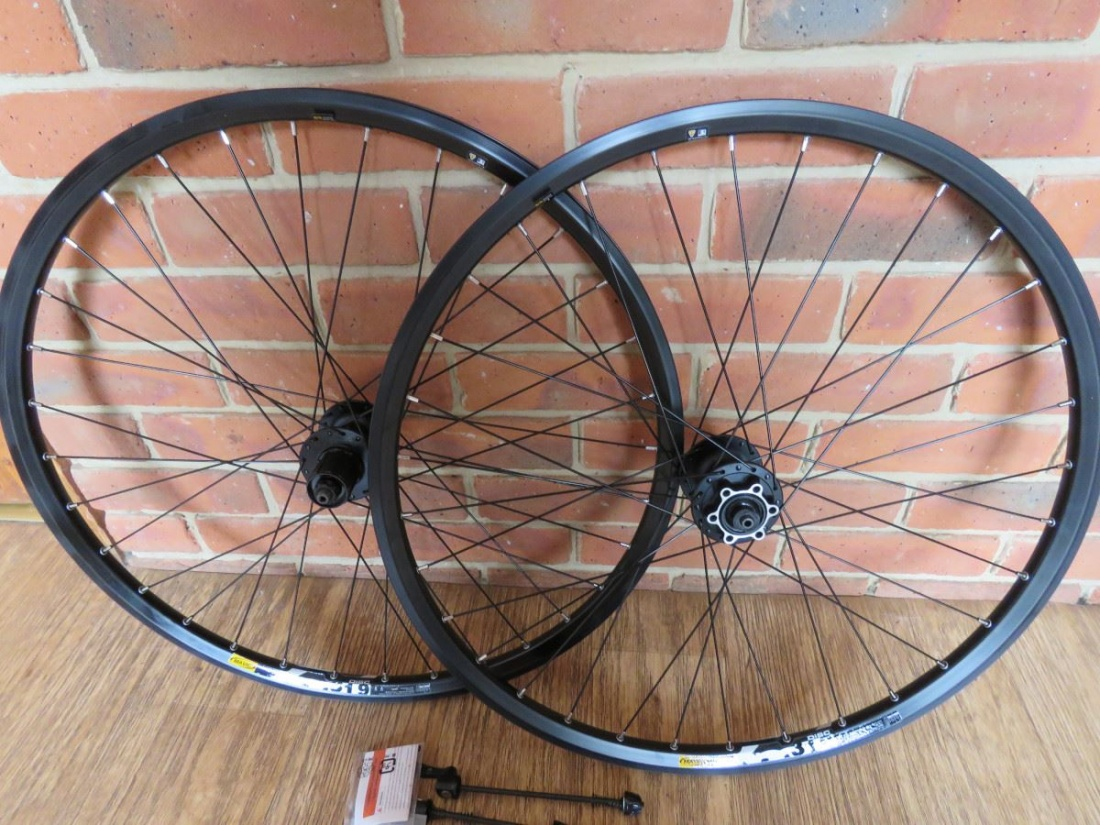 Shimano M475 Hub 26 Wheel Set 7/8/9/10/11 Speed Mavic XM319 Rims
